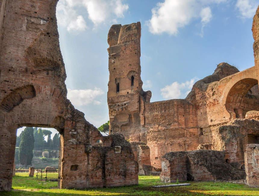 Terme di Caracalla bezienswaardigheden Rome