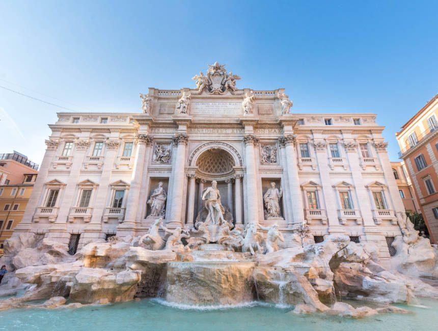 Trevi fontein Rome bezienswaardigheden