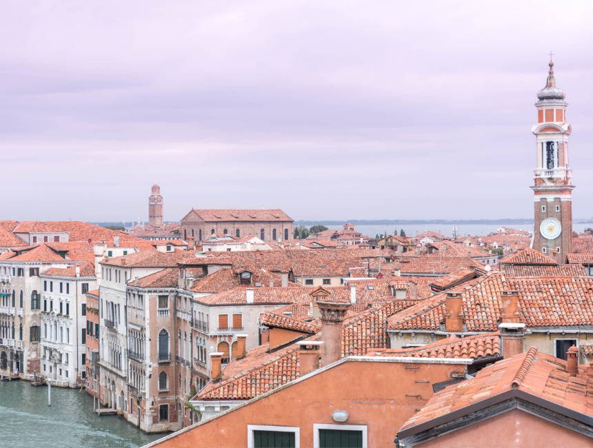 uitzicht T Fondaco dei Tedeschi Venetië