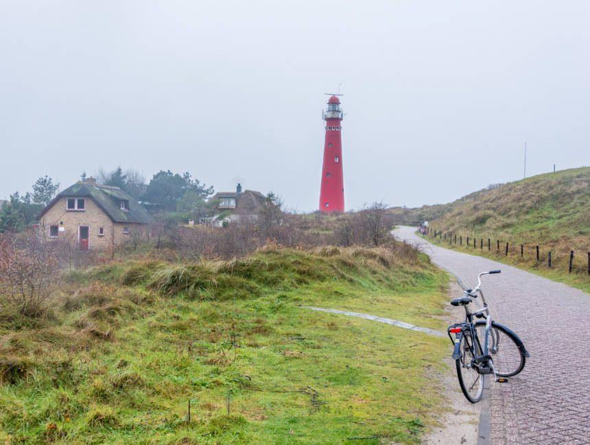 vuurtoren schiermonnikoog fietsen