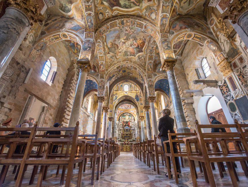 Santa Maria dell'Ammiraglio bezienswaaridhgeden Palermo Martorana