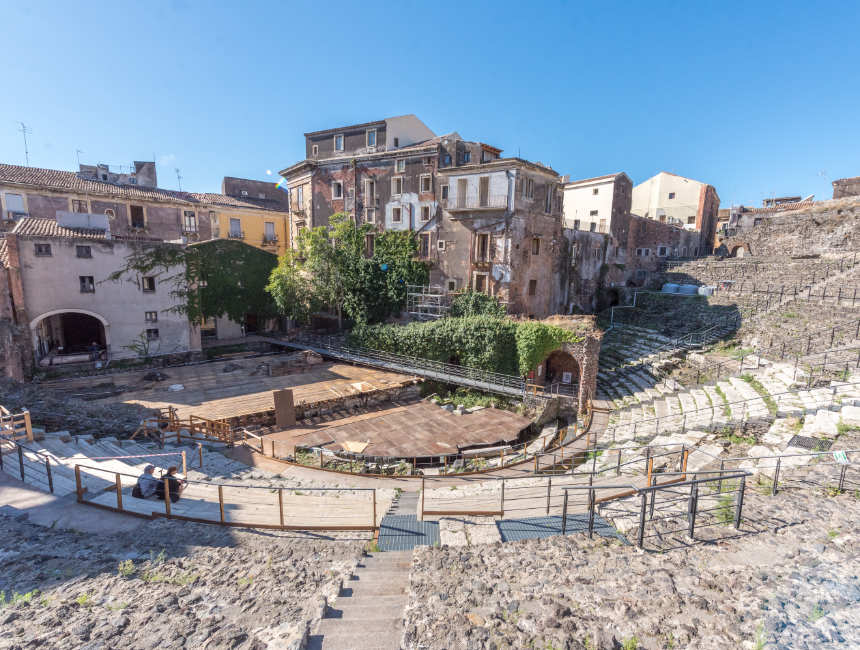teatro romano amfitheater catania