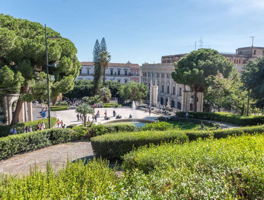villa bellini catania giardino bellini