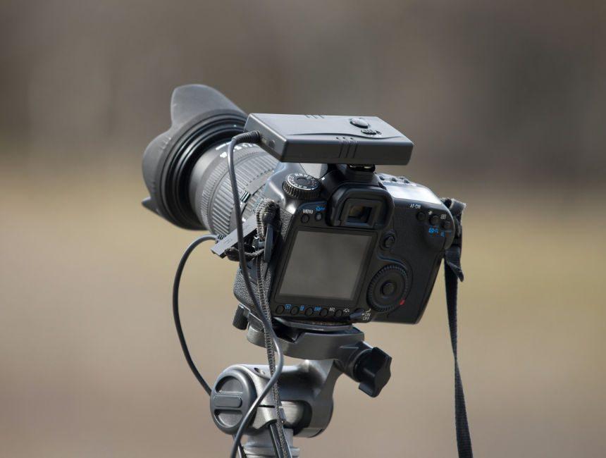 afstandsbediening camera zelf op reis alleen