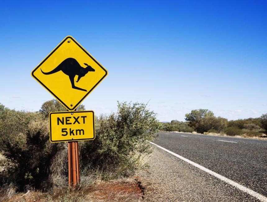 Alleen op vakantie Australië