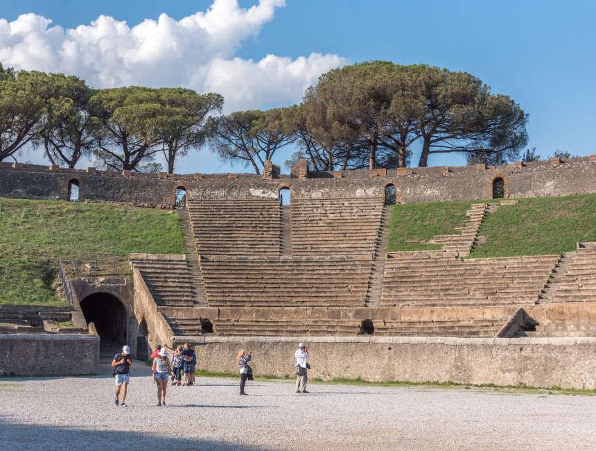 amfitheater pompeii