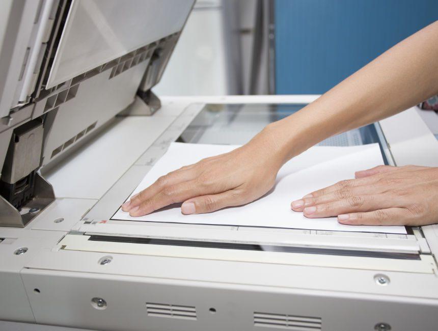 belangrijke documenten scannen alleen op vakantie