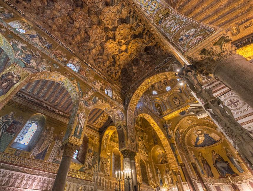 capella palatina palazzo dei normanni palermo dingen om te doen