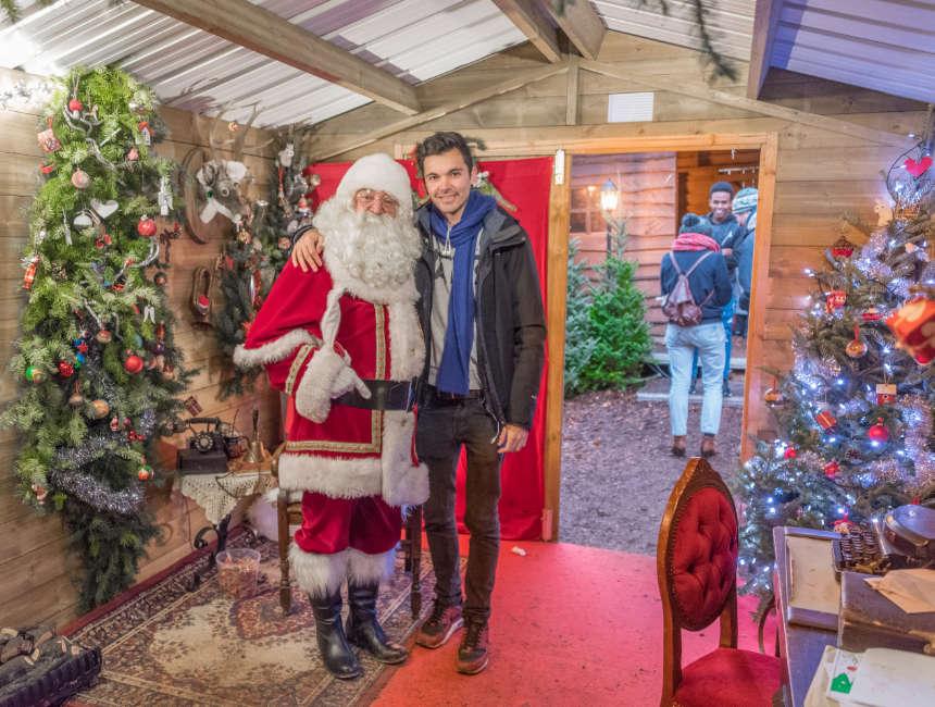 leuvense kerstmarkt Kerstman