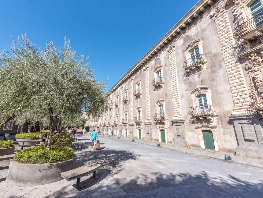 monastero dei benedettini universiteit catania