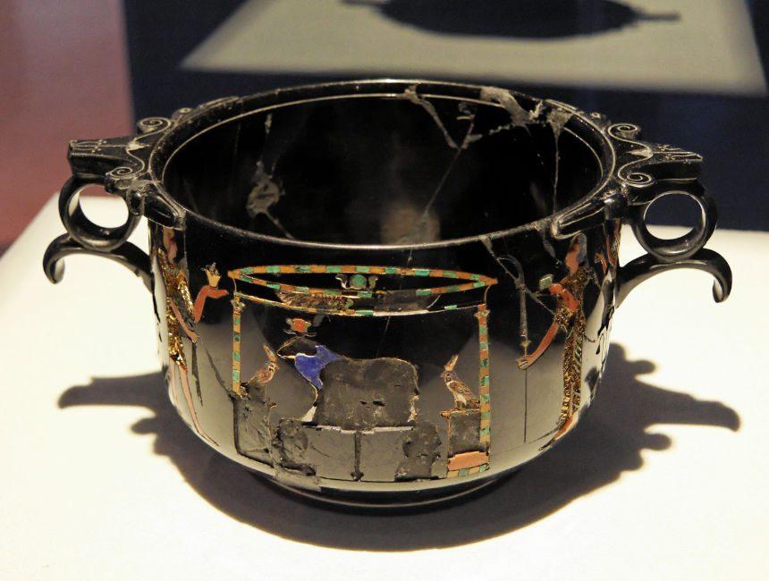nationaal archeologisch museum Napels pompeii