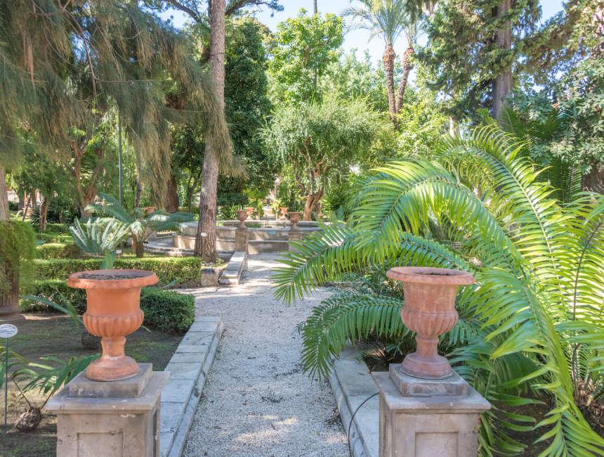 orto botanico catania botanische tuinen