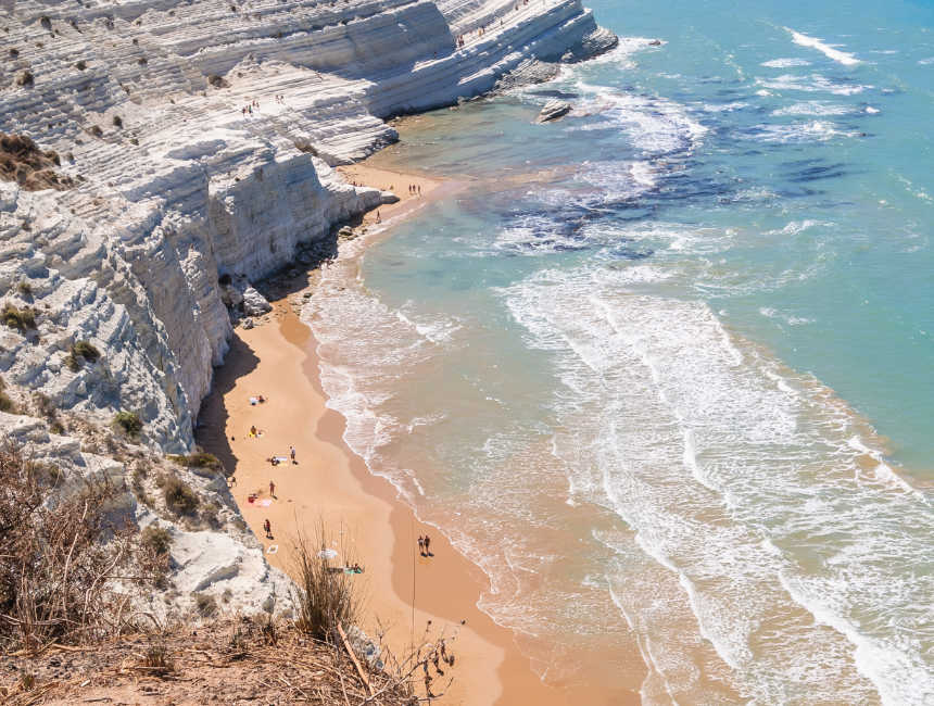 scala dei turchi mooiste stranden sicilie
