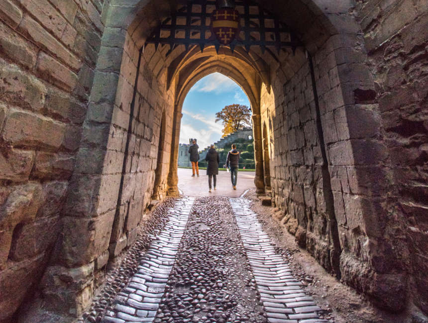 toegangspoort warwick castle