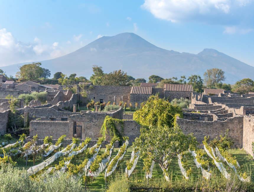 uitzichtpunt pompeï