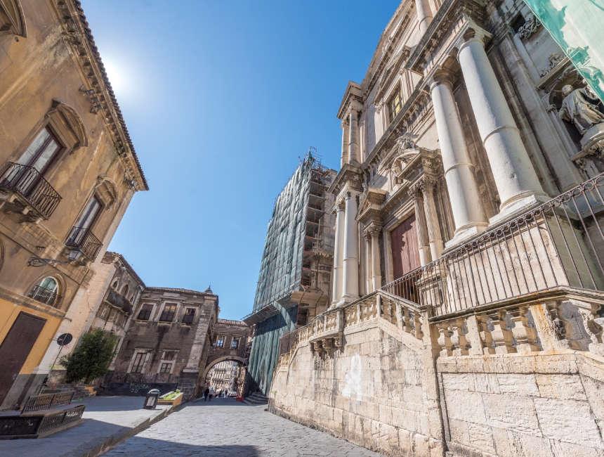 via crociferi catania sicilie