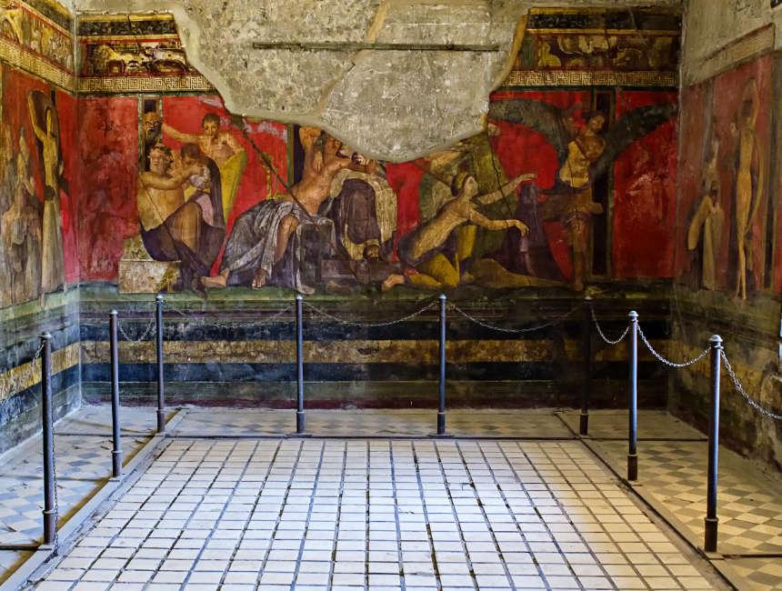 villa dei misteri pompeii