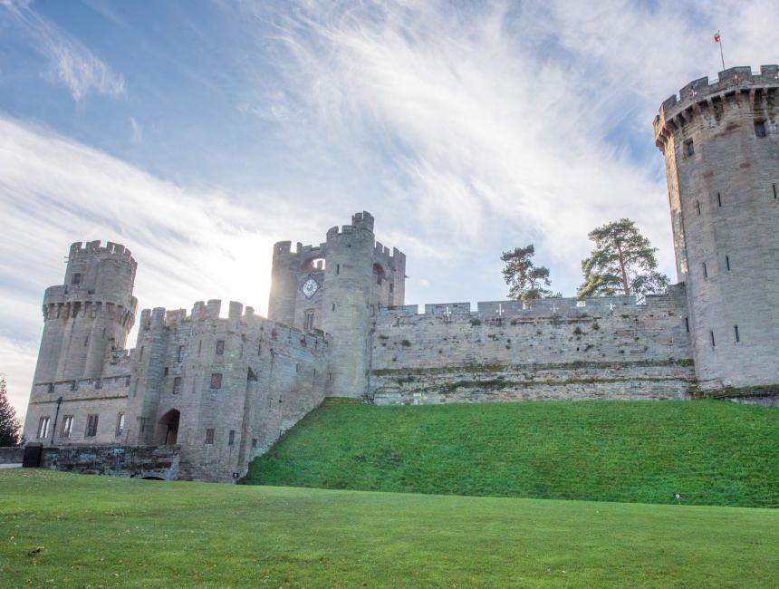 warwick castle daguitstap