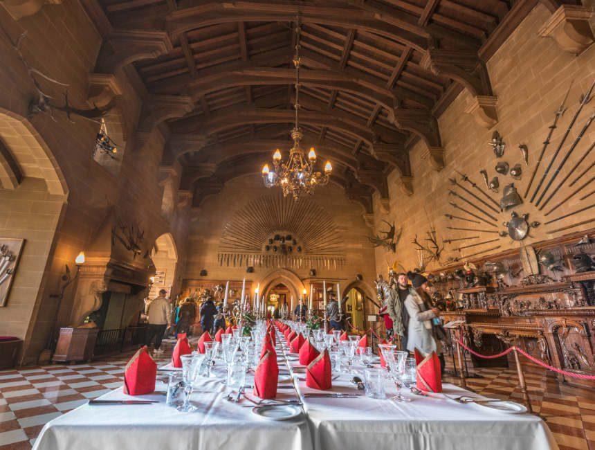 warwick castle interieur