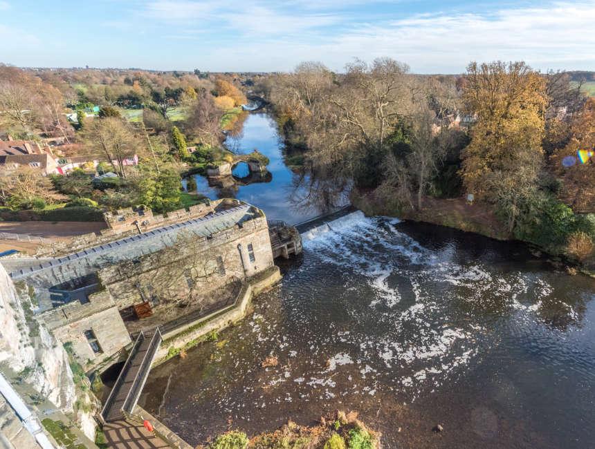 warwick castle tuinen