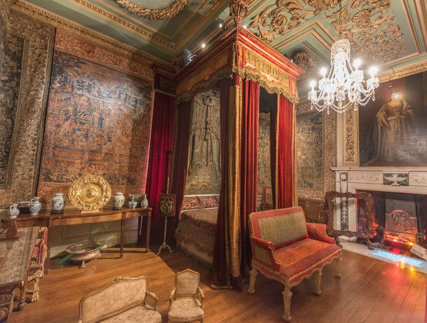 warwick castle slaapkamer