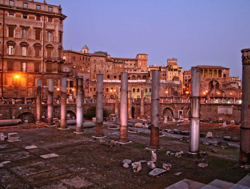 gratis bezienswaardigheden Rome