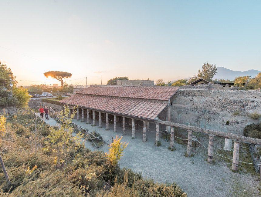archeologische opgravingen Pompeii
