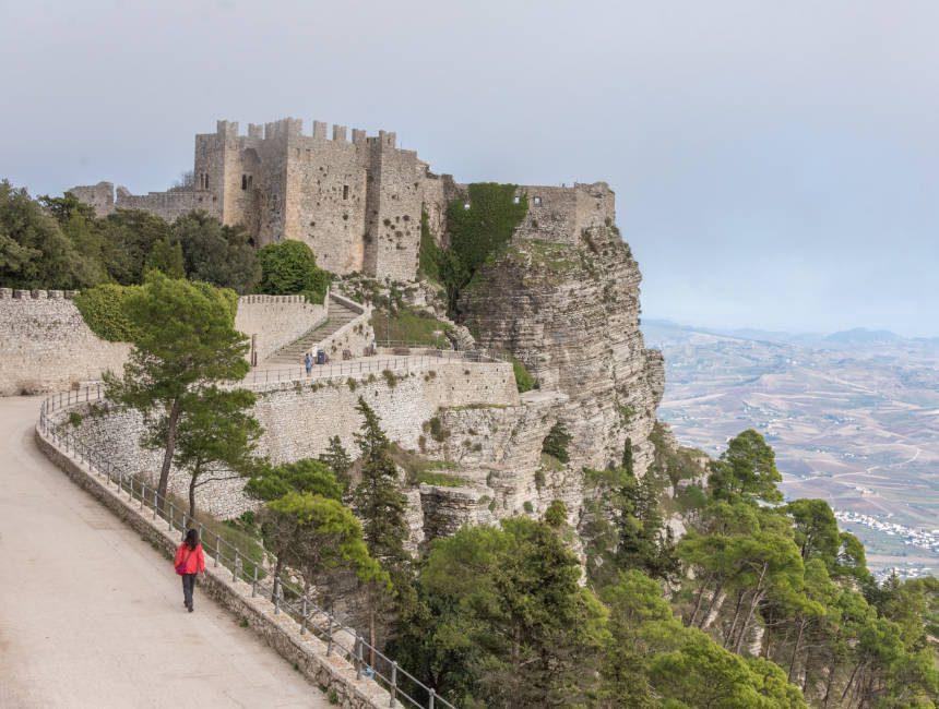erice kasteel sicilie bezienswaardigheden