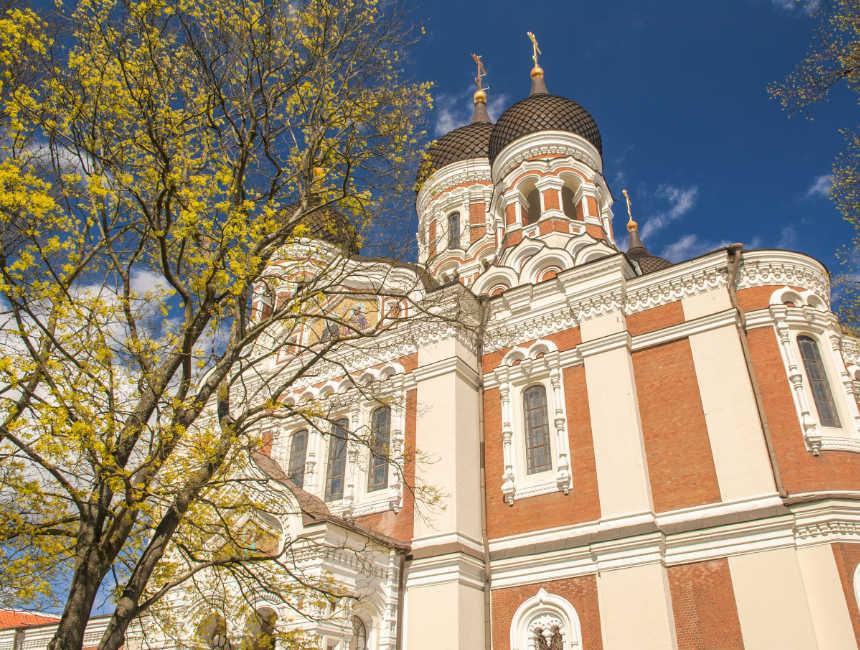 Alexander Nevski kathedraal bezienswaardigheden Tallinn