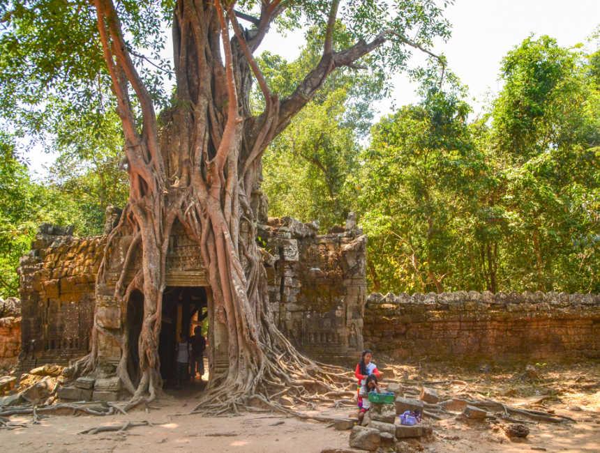 Cambodja bezienswaardigheden Angkor wat