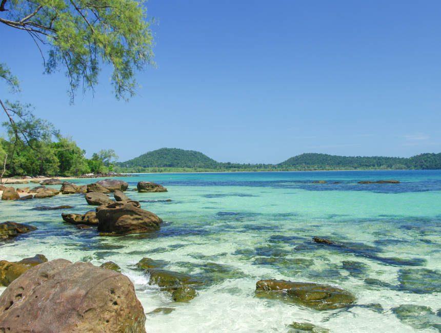 koh rong cambodja stranden