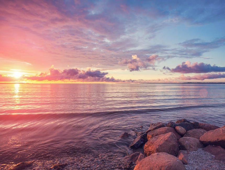 pirita beach tallinn estland