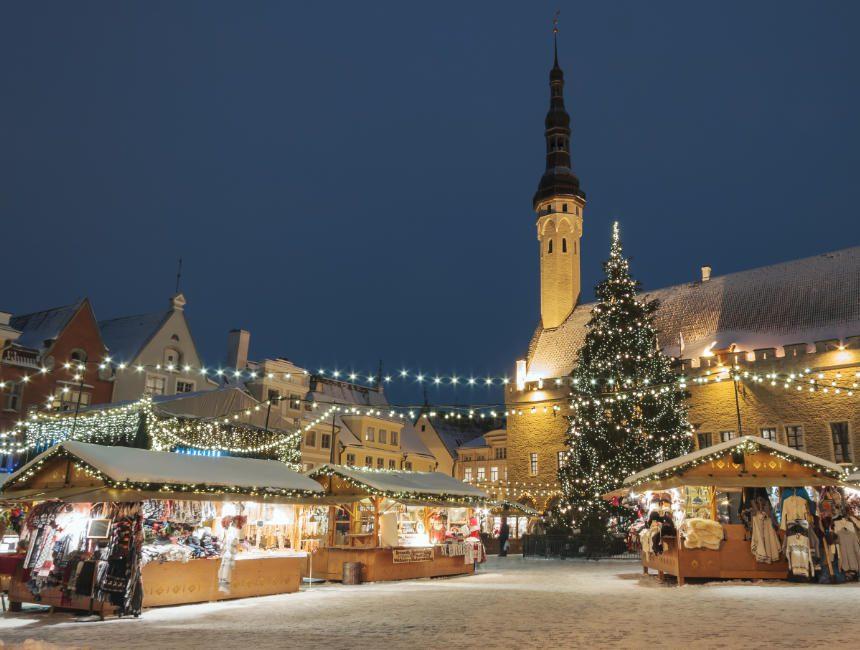 tallinn bezienswaardigheden kerstmarkt
