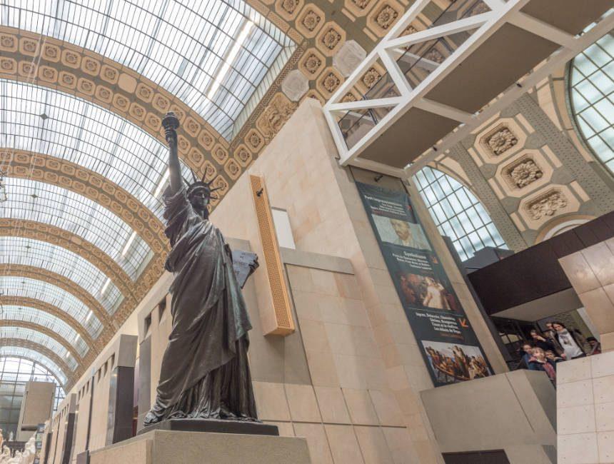 vrijheidsbeeld musée d'orsay