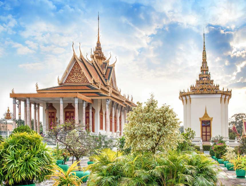 zilveren pagode cambodja phnom penh