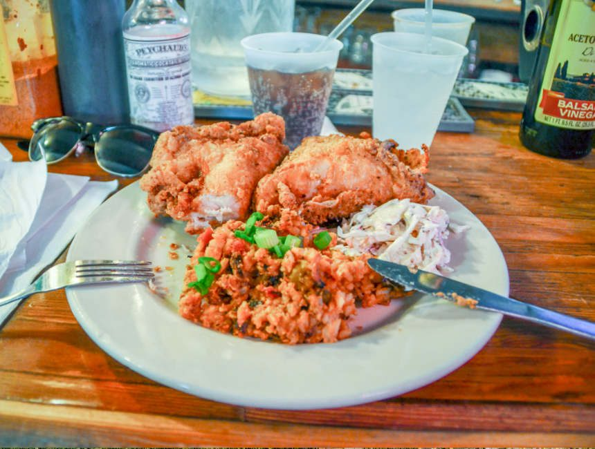 fried chicken coops place