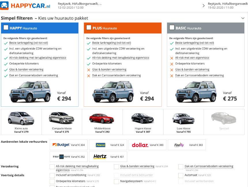Happy Car IJsland 4x4