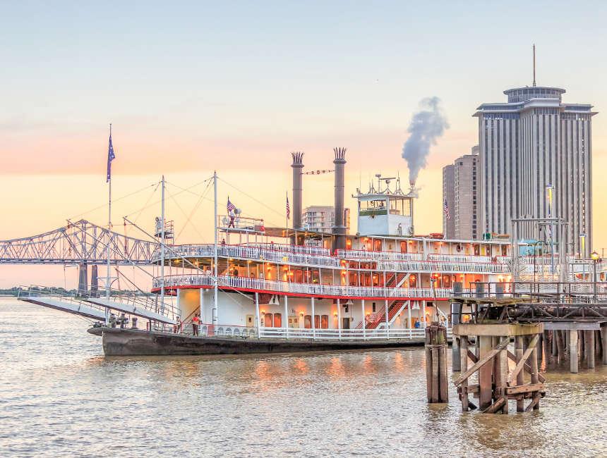mississippi stoomboten cruise new orleans dingen om te doen