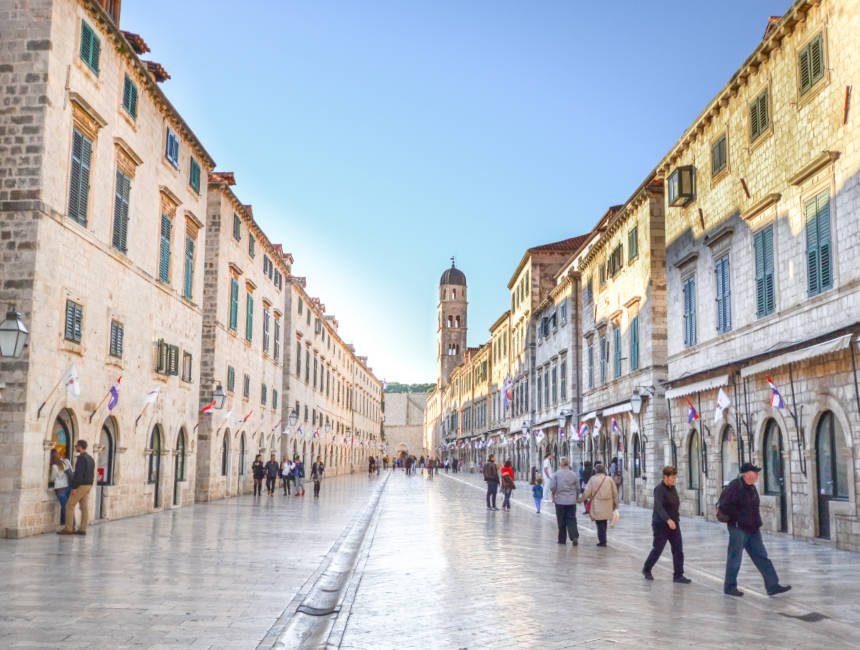 reis naar kroatie dubrovnik