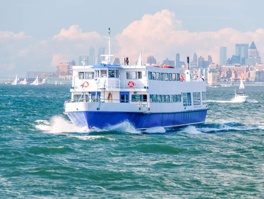 staten island ferry vrijheidsbeeld gratis bezoeken