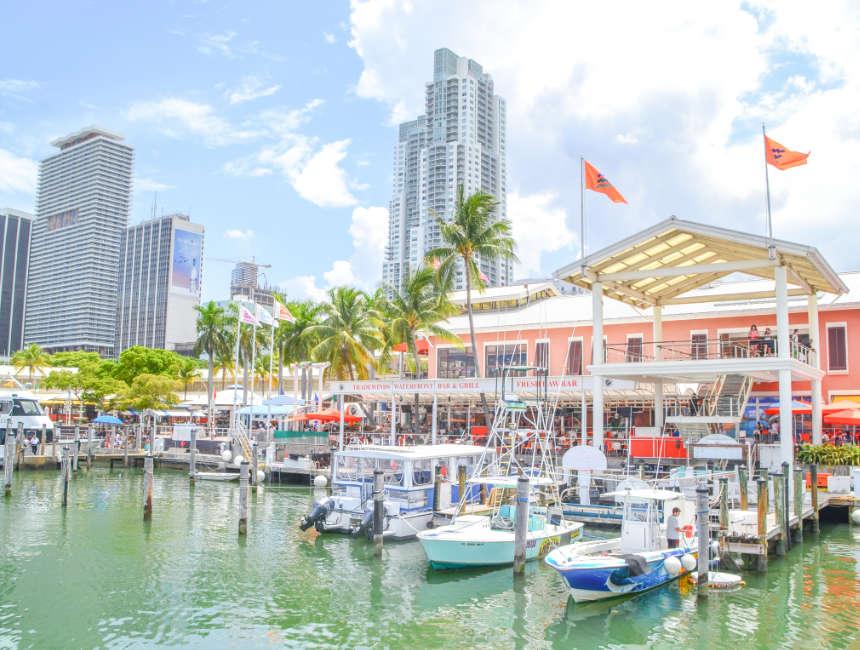 bayside market miami bezienswaardigheden