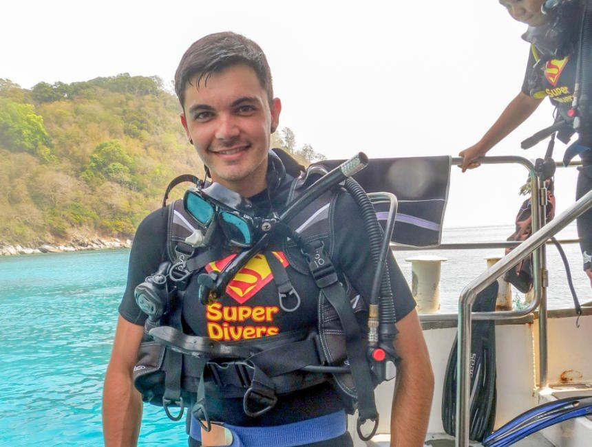 duikuitrusting leren duiken