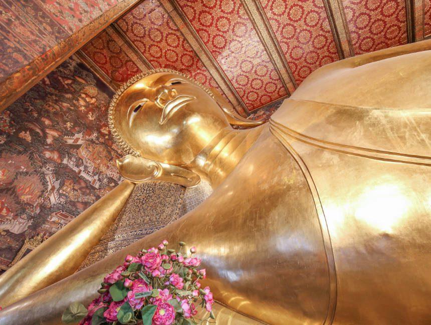 grootste liggende boeddha ter wereld