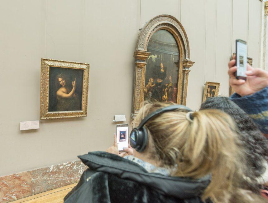 Johannes de Doper Leonardo da Vinci