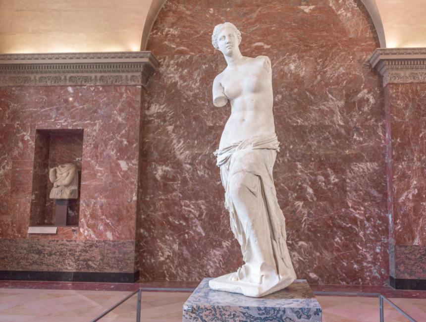 Louvre kunstwerken Venus van Milo