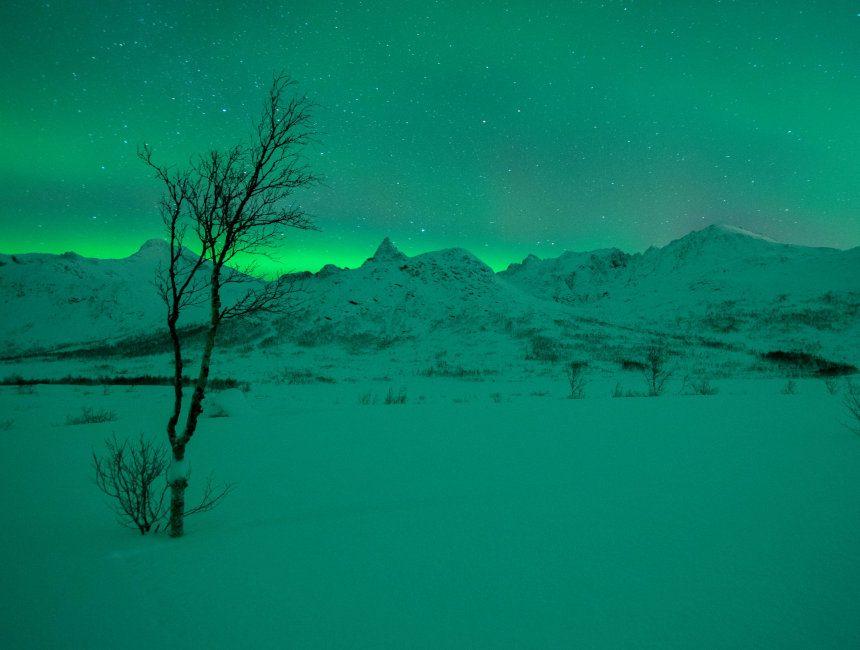 noorderlicht noorwegen melkweg