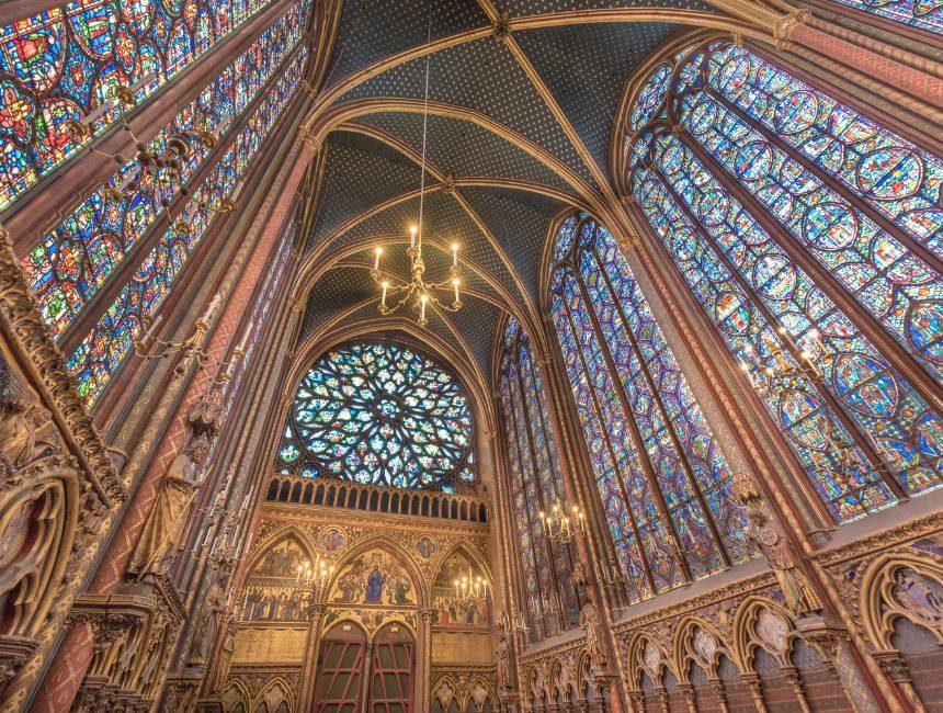 parijs sainte chapelle