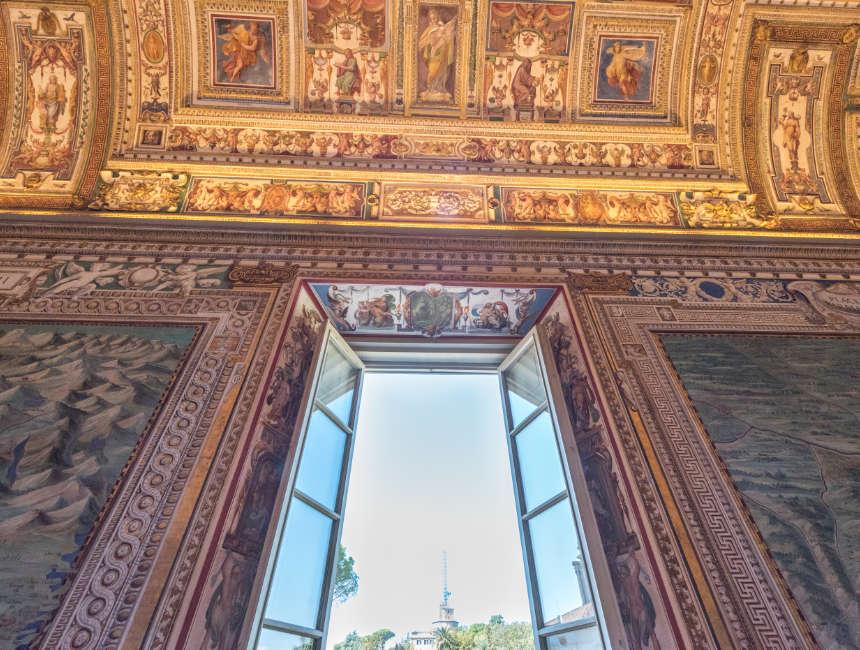Galleria delle Carte Geografiche vaticaanse musea bezoeken