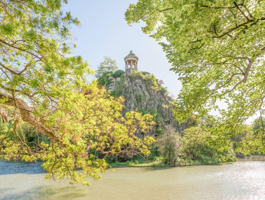 dingen om te doen in Parijs parc des buttes chaumont