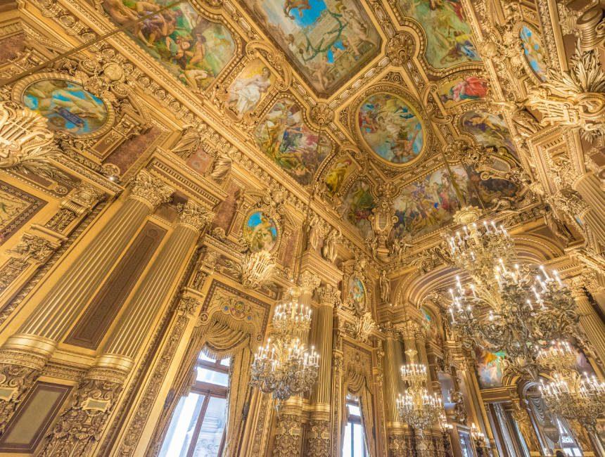 opera garnier bezienswaardigheden Parijs